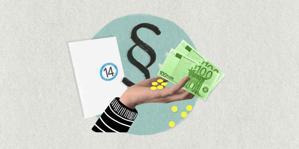 Symbolbild Zahlung der Kaufnebenkosten