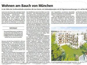 Süddeutsche Zeitung über Isar Docks